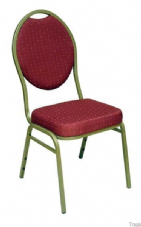 Jordon Stacking Conference Chair in Red